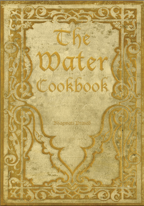 Sarai - The Water Cookbook - Cover