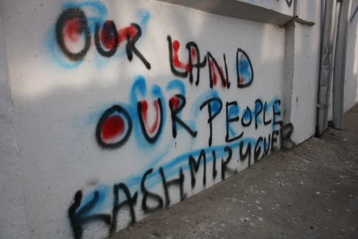 Kashmir - Wall Writing 01