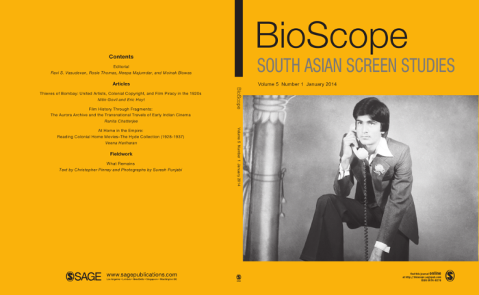 BioScope vol 05 no 1 - Cover