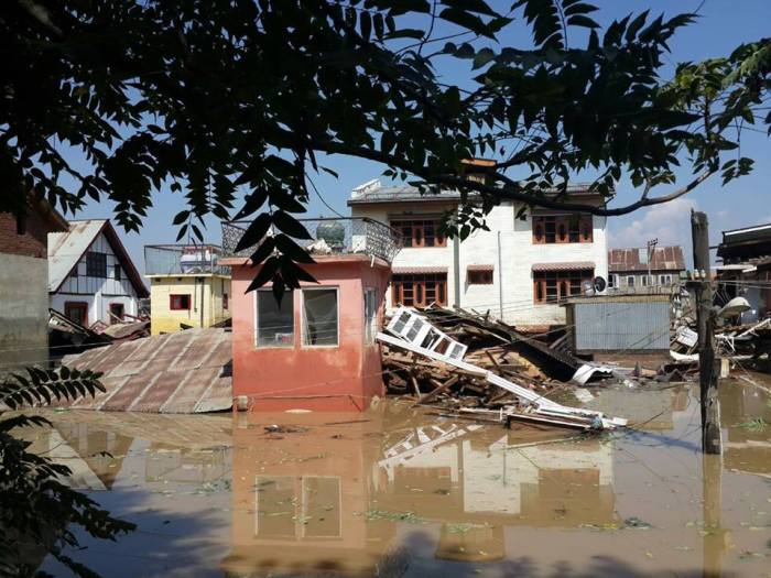 Flood in Srinagar, 2014