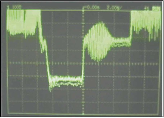 Fig. Superimposition of Video Waveform of 1) the disputed recording and Original 2) the disputed recording with the copy of the camera original